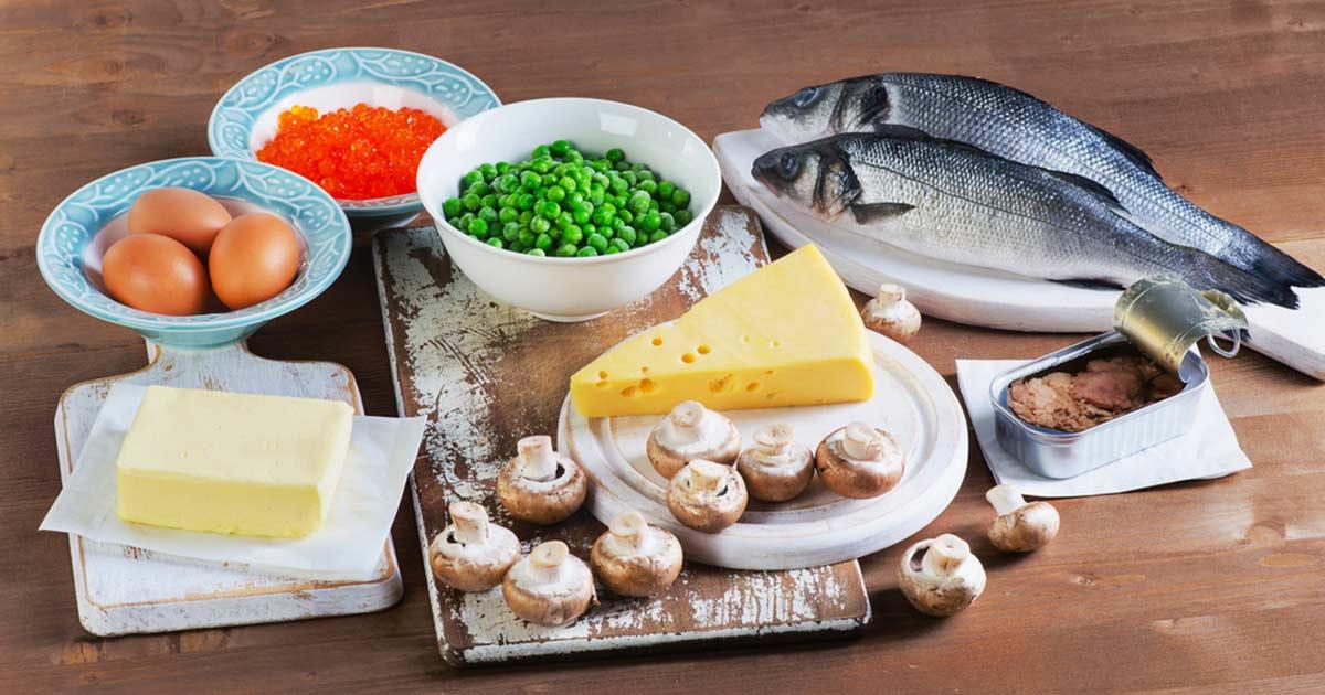 Fisk och mjölkprodukter är bra källor till vitamin D.