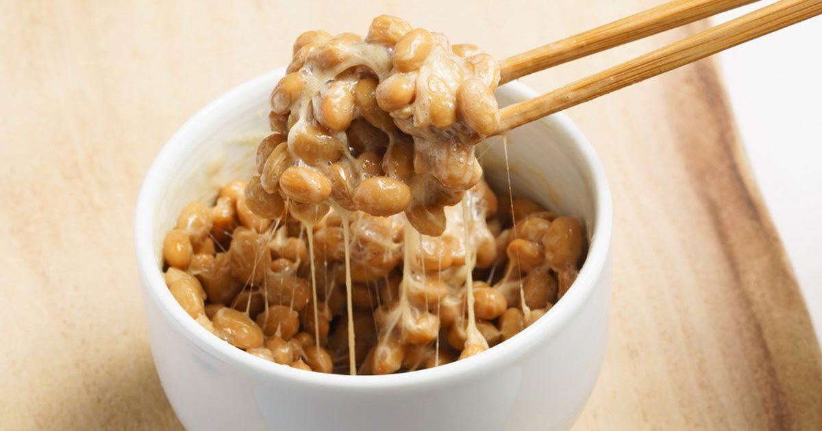 Den japanska matträtten Natto är fullproppade med vitamin K2.
